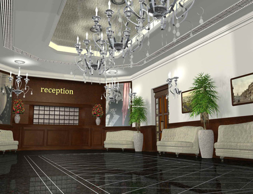 Інтер'єри готелю «Алфавіто» в м. Києві
